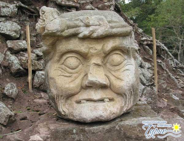Самый крупный город цивилизации майя